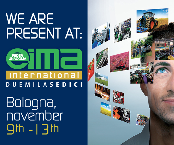 EIMA International in Bologna, november 9th - 13th